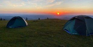 Kamp Ordu, Akinek Yaylası'nın tüm güzelliğini keşfetti