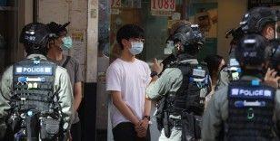 Hong Kong'da Ulusal Güvenlik Yasası'na karşı sessiz protesto