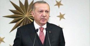 Cumhurbaşkanı Erdoğan: Kısa çalışma ödeneğinden mevcutta yararlananların süresini bir ay daha uzatıyoruz
