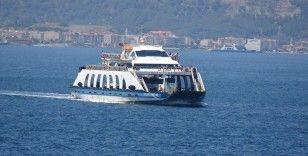 Çanakkale'de boğaz ve adalar hattında feribot seferleri artıyor