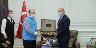 """İçişleri Bakanı Soylu'dan, TDV'nin """"İyilik Konutları""""na destek"""
