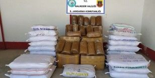 Kargo araçlarında 3 bin 800 kilo kaçak tütün yakalandı