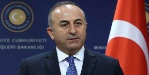Çavuşoğlu: NATO müttefiki Fransa Rusya'nın Libya'da mevcudiyetini artırmak için çaba sarf ediyor