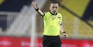 Galatasaray-Trabzonspor mücadelesini Cüneyt Çakır yönetecek