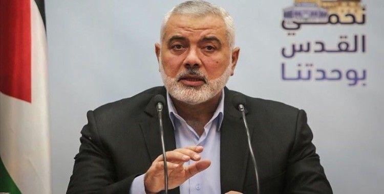 Hamas Lideri Heniyye: Filistin'in içeride ve dışarıda milli birliğini sağlamaya yönelik çalışmalara başladık