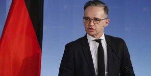 Almanya Dışişleri Bakanı Maas: Kovid-19 salgını Suriye'deki korkunç durumu kötüleştirdi