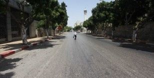 Batı Şeria'da Kovid-19 nedeniyle 5 gün boyunca genel karantina uygulanacak