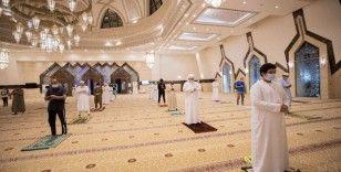BAE'de 106 gün sonra camiler açıldı