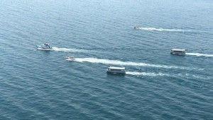 Göçmenleri taşıyan batık tekneyi arama çalışmaları devam ediyor