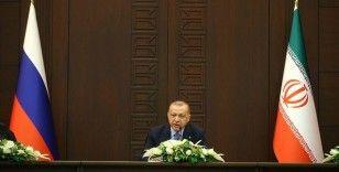 Cumhurbaşkanı Erdoğan: Suriye'nin güvenlik ve istikrara kavuşması için elimizden geleni yapmayı sürdüreceğiz