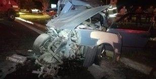 Hamile kadın hayatını kaybetti,  2'si çocuk 5 kişi de yaralandı