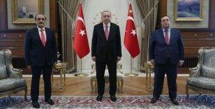 Cumhurbaşkanı Erdoğan, Yargıtay Cumhuriyet Başsavcısı Şahin'i kabul etti