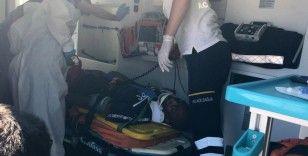 Esenyurt'ta yabancı uyruklu bir şahıs 5 katlı binadan düştü