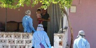 Cenaze sonrası pozitif vaka görülen mahallede karantina sayısı 139 oldu