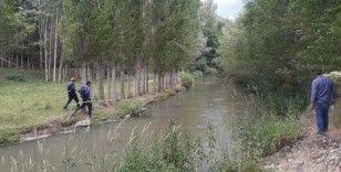 Su kanalı kenarından oynayan Melek'ten haber alınamıyor