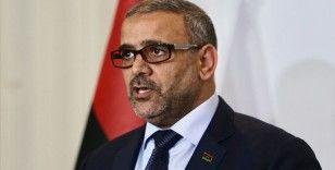 Libya Devlet Yüksek Konseyi Başkanı Mişri AB Libya Büyükelçisi Bugeja ile görüştü