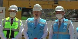 Bakan Karaismailoğlu Gebze metrosunun açılışı için tarih verdi