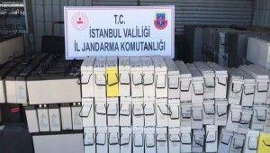 Silivri'de bir kişi baz istasyonundan 16 akü çalıp hurdacıya sattı