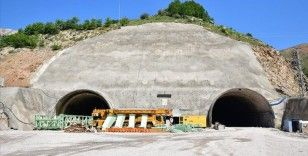 Giresun Valisi Ünlü: Eğribel Tüneli'nde kazı çalışmaları tamamlandı