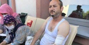 Sakarya'daki patlamada yaralanan işçi Recep Ersoy olay anını anlattı: Patlama ilk vurduğu zaman beni 10 metre fırlattı