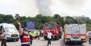AFAD: 'Yaklaşık 200 çalışanı bulunan fabrikaya müdahale ediliyor'