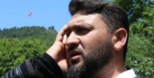 Dağa taşa Kur'an okuyan hurdacı sosyal medyada büyük ilgi gördü