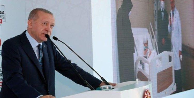 Cumhurbaşkanı Erdoğan'dan Kartal Dr. Lütfi Kırdar Şehir Hastanesi paylaşımı