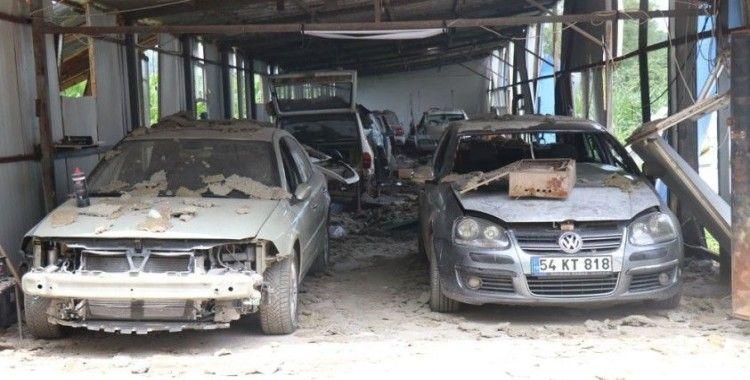 Sakarya'daki patlamada bir bardak su hayatlarını kurtardı