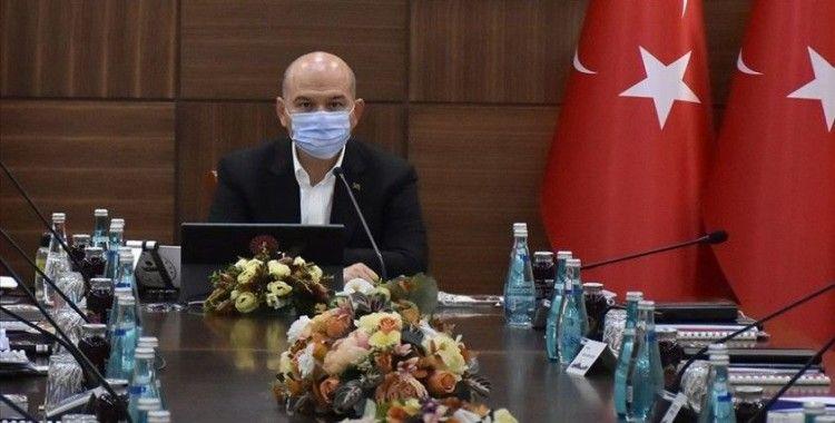 İçişleri Bakanı Soylu başkanlığında Mardin'de düzenlenen güvenlik toplantısı başladı
