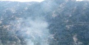 Akseki'deki orman yangını kontrol altına alındı