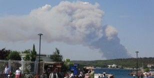 MSB'den Gelibolu Yarımadası'ndaki yangına ilişkin açıklama
