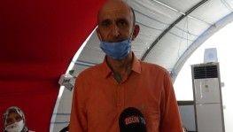 Pandemi sürecinden sonra Diyarbakır'daki ailelere ilk ziyaretçi