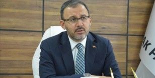 Gençlik ve Spor Bakanı Kasapoğlu: Gençlerimiz bizim en büyük umudumuz