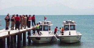 Van Gölü'nde kaybolan tekneyi arama çalışmalarında 2 kişinin daha cesedi bulundu