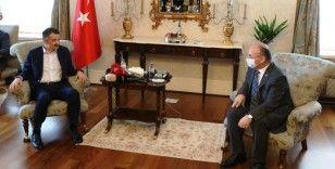 Bakan Pakdemirli'den Vali Karadeniz'e 'hayırlı olsun' ziyareti