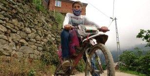 Motosiklet hayali imkansızlıkların önüne geçti