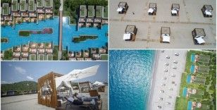 İzole tatil için plajlarda oluşturulan 'özel bölümler' ilgi görüyor
