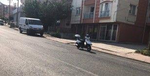 Malkara'da motosiklet devrildi: 1 yaralı