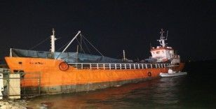 İzmir'de bir gemide 268 düzensiz göçmen yakalandı