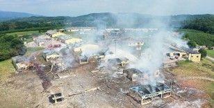 Patlama sonucu 184 bölümde hasar tespiti yapıldı