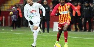 Rizespor ile Kayserispor 22. randevuda