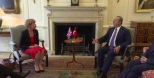 Dışişleri Bakanı Çavuşoğlu, İngiltere'nin Avrupa'dan Sorumlu Devlet Bakanı Morton'u kabul etti