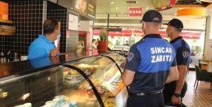 Başkent'te korona virüs denetimlerinde kurallara uymayanlara ceza