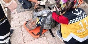 Aksaray'da inşaat çöktü: 2 işçi enkaz altında kaldı