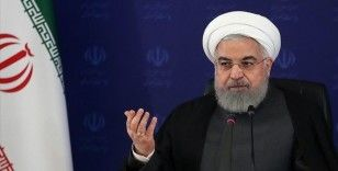 Ruhani: ABD ve İsrail, İran halkı ile rejimi arasında tefrika çıkarmak istiyor