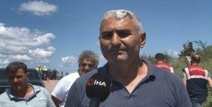 Patlamayı 3 kilometre uzaklıktaki mahallede yaşayan vatandaş anlattı