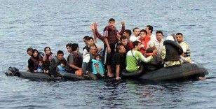 Balıkesir'den 116 düzensiz göçmen ve 1 organizatör yakalandı