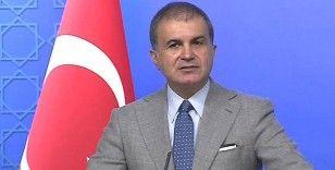 AK Parti Sözcüsü Çelik: 'ABD'nin attığı son adım çözümsüzlüğe destek verecektir'