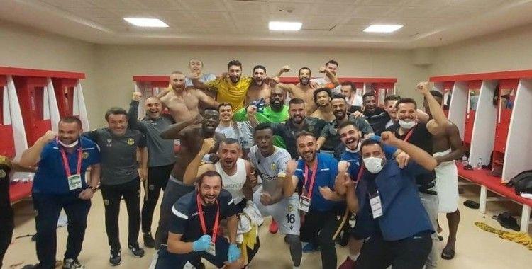 Yeni Malatyaspor'da galibiyet sevinci sürüyor
