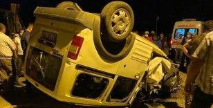 Tunceli'de trafik kazası: 1 ölü